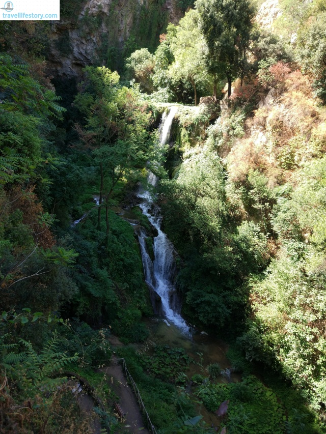Villa Gregoriana's waterfall