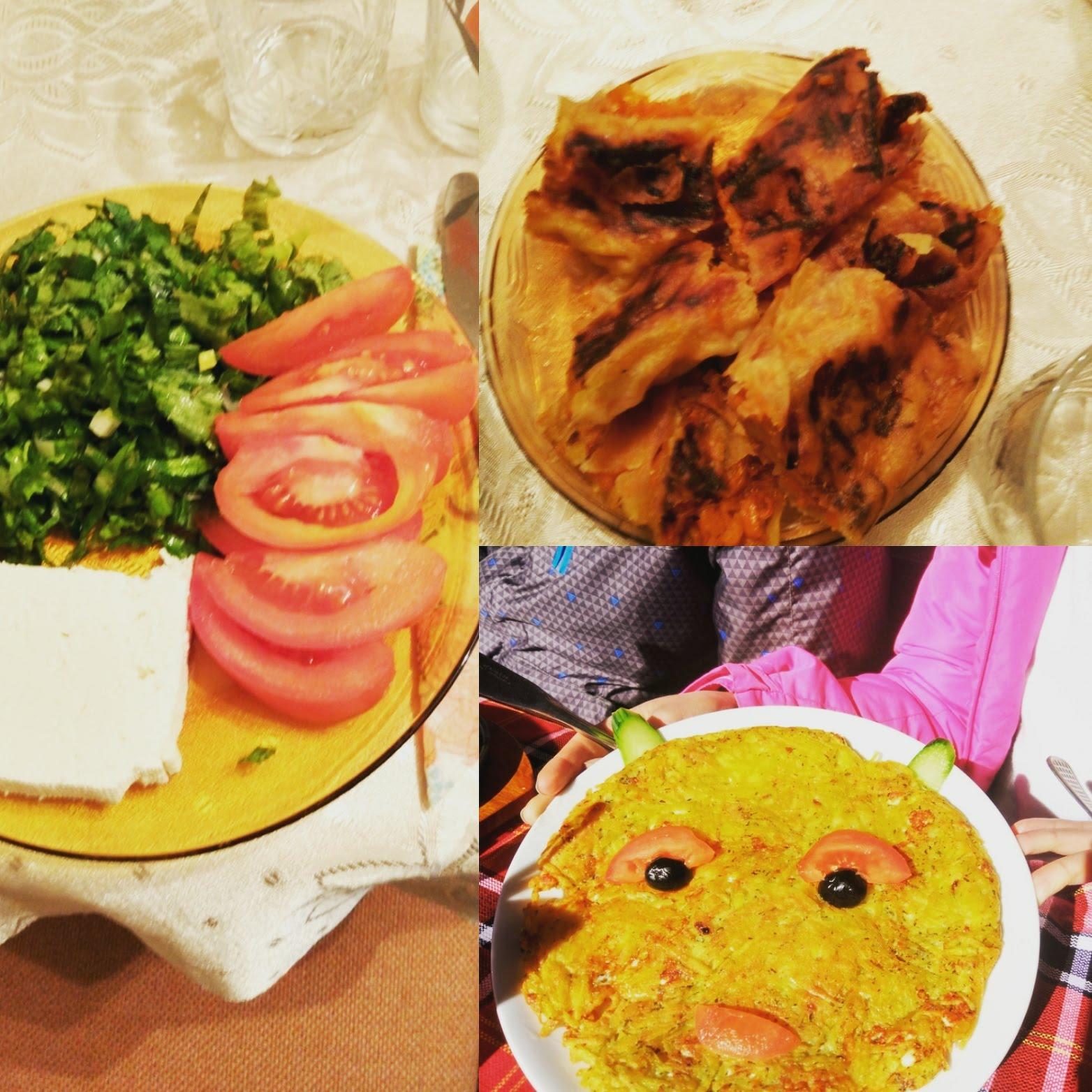 #traditional #bulgarian #food #rodopi #mountain #patatnik #пататник #тиквеник #bulgariansalad #salad #mechichal #chepelare