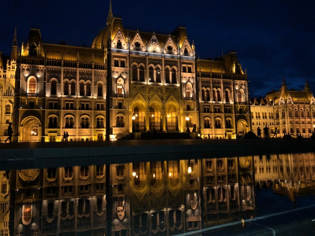 The amazing Parliament building Budapest