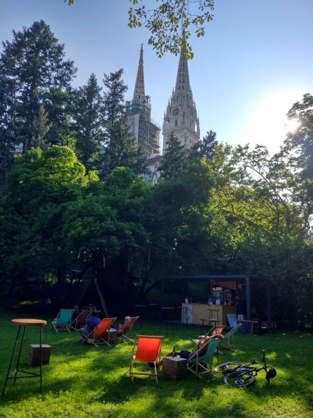 Zagreb Cathedral park