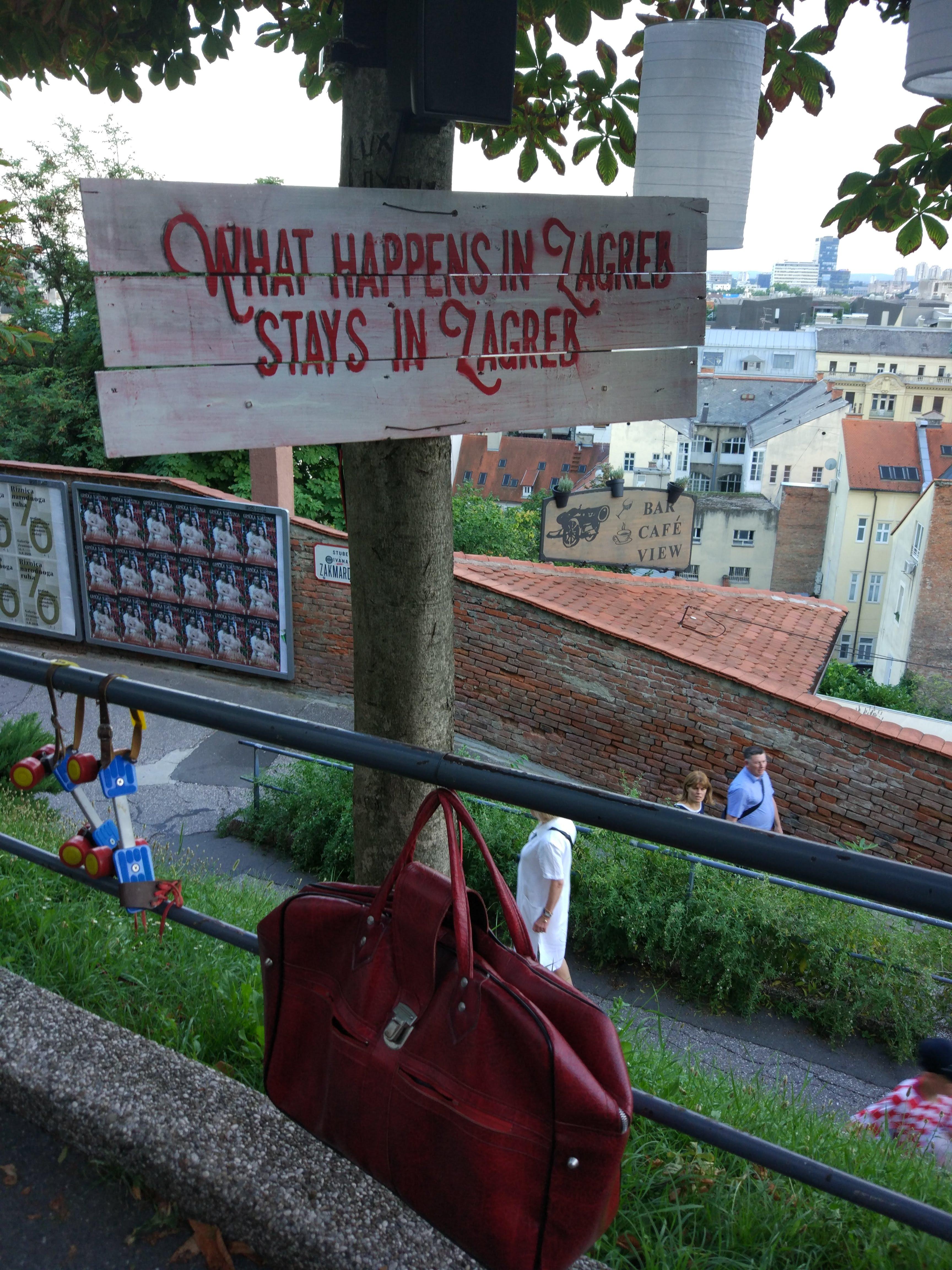 What happens in Zagreb, stays in Zagreb